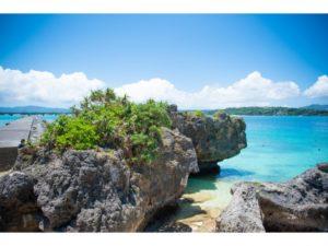 古宇利島の浜