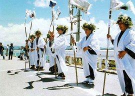 古宇利島 海神祭