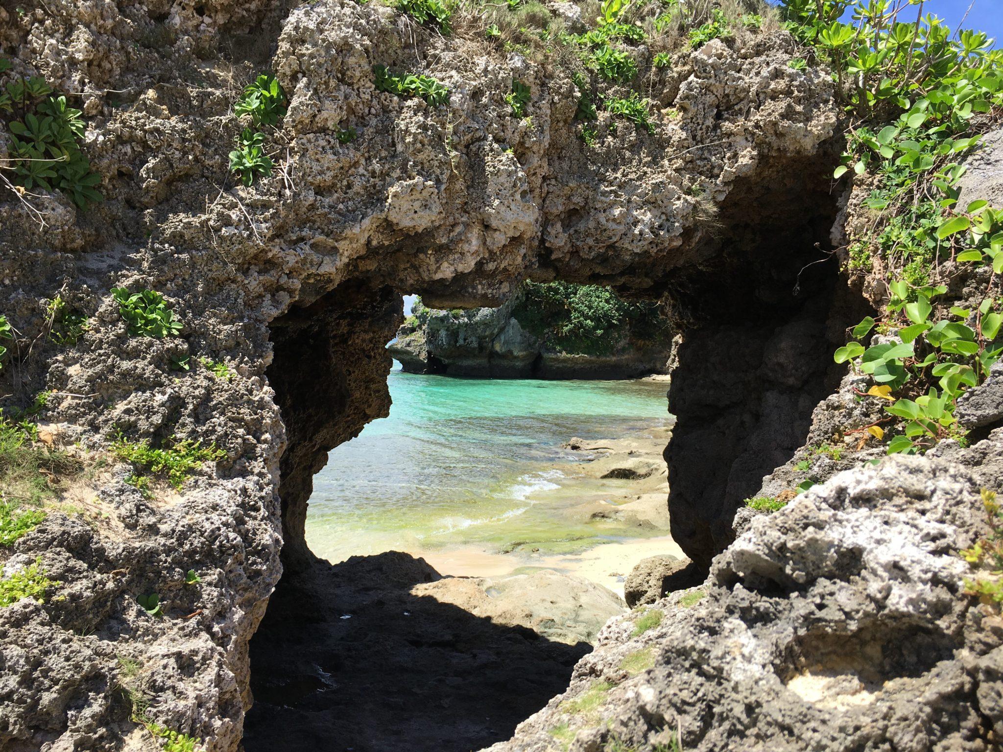 古宇利島 始まりの洞窟